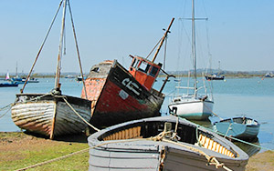 Times To Access Mersea Island